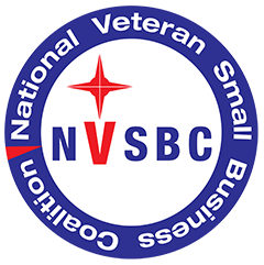 National Veteran Small Business badge